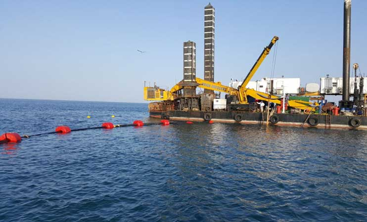 Dredging-pipes-and-Floats-dubai