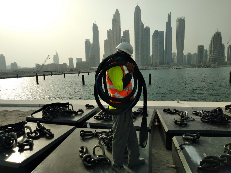 Sealite-Synthetic-mooring-strops UAE