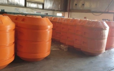 Dredging pipe floats supply