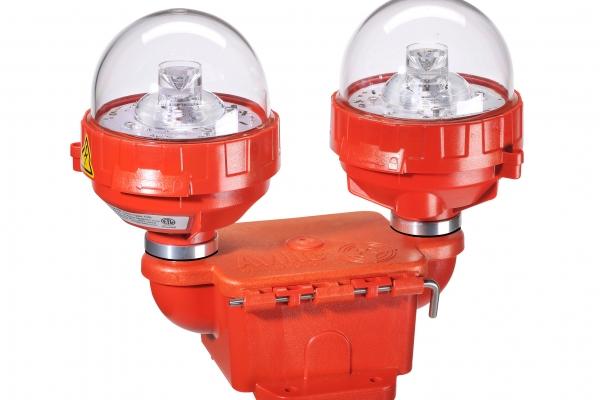 FAA L-810 Dual Fixture Obstruction Light