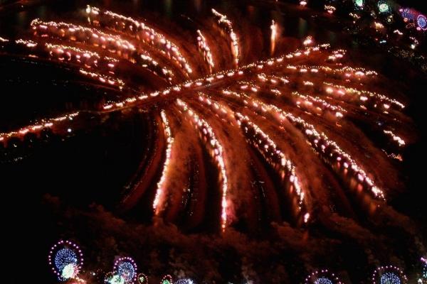 Fireworks Pontoons construction