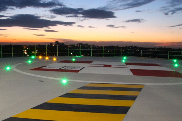 Heliport Lighting Fixtures - Inset Helipad Lighting AV-HLI