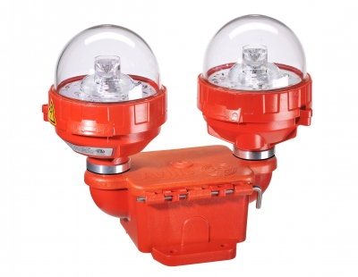 ICAO Low Intensity Type A & B Dual Fixture Obstruction Light