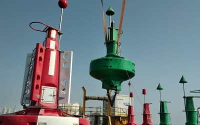 Installation and comissioning of the main channel for the Dubai Harbour Project