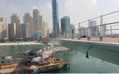 Installation of Sealitebridge lights and day-marks