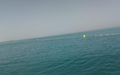 Manufacture and installation of swimming demarcation lines in Abu Dhabi