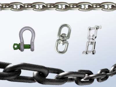 Chain, Shackles and Swivels Supplier