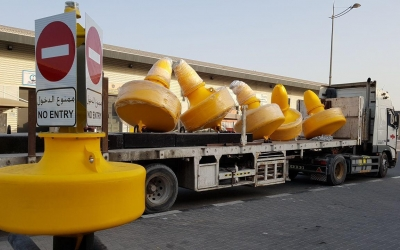 SealiteSLB1500 Buoys with Mooring system ready for delivery and deployment.