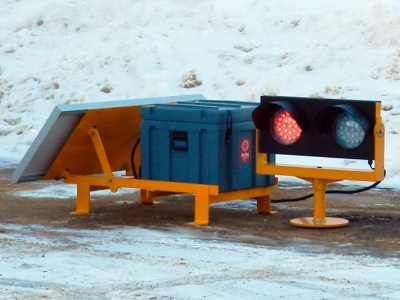 Solar LED Elevated Runway Guard Light AV-ERGL FAA ICAO