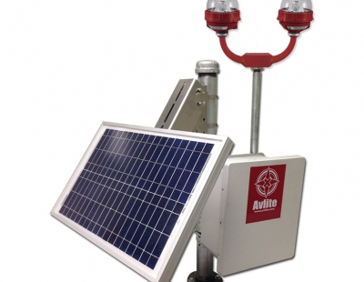 Solar-Power-System-For-FAA-L-810-Single-Or-Dual-Obstruction-Light-new
