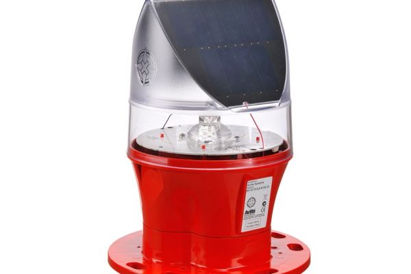 Solar Powered ICAO Type A Low Intensity Obstruction Light