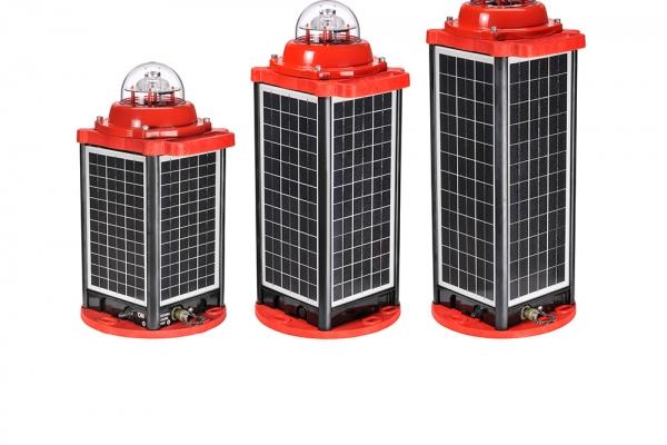 Solar Self-Contained Obstruction Light AV-OL-310