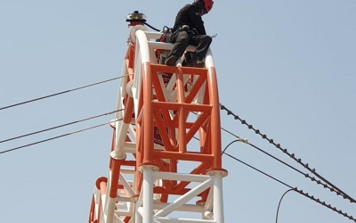 Supply and Installation of Avlite Systems ICAO Dual Type Medium Intensity Obstruction light