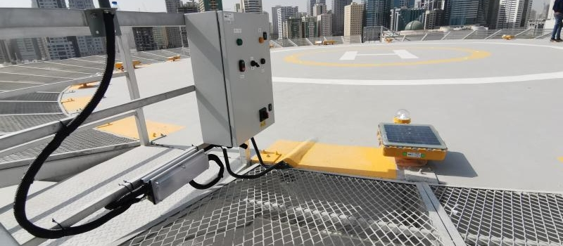 Helipad Port Lighting Solution