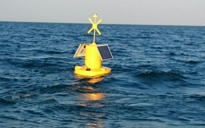 Supply and installation of a Sealite marker buoy SLB 1250