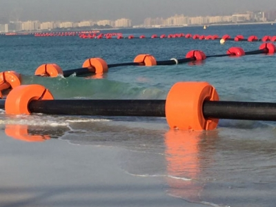 dredging-pipe-and-floats-uae